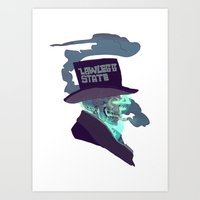 lawless state Art Print