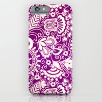 VINTAGE VECTOR FLOWERS 2 - for iphone iPhone 6 Slim Case