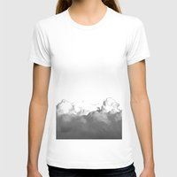 Thick Air Womens Fitted Tee White SMALL
