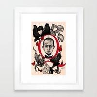 GOD SAVE ALEXANDER MCQUE… Framed Art Print