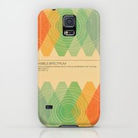 Galaxy S5 Cases featuring Visible Spectrum  by Budi Kwan