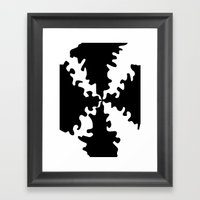 Puzzle Framed Art Print