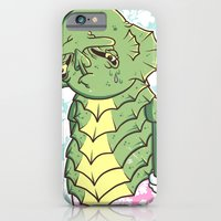 iPhone & iPod Case featuring The Sadness Of The Creature by Doyle Raw Meat