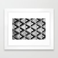 Tiling with pattern 2 Framed Art Print