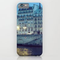 iPhone & iPod Case featuring Paris by Night: Ile de la Cite by istillshootfilm