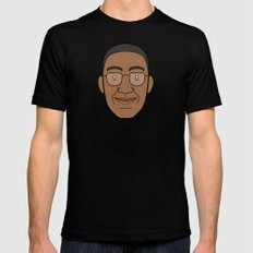 Faces of Breaking Bad: Gustavo Fring Mens Fitted Tee Black SMALL