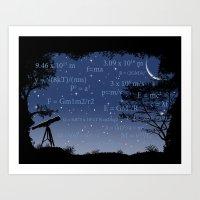 Formulas Matter Art Print