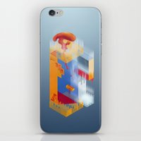 Castle Of Impossible Fla… iPhone & iPod Skin