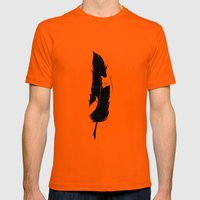 Sly Mens Fitted Tee Orange SMALL
