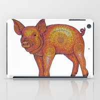 Patterned Piglet iPad Case