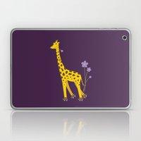 Funny Giraffe Roller Ska… Laptop & iPad Skin