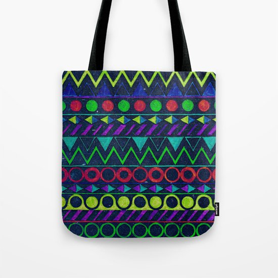 Billy Aztec Tote Bag