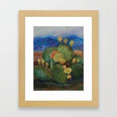 Tucson Cactus MM151207f-12 Framed Art Print