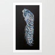 Goddess Of Many Eyes 2 Art Print