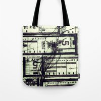Muni Breaks Mixed Media by Faern Tote Bag