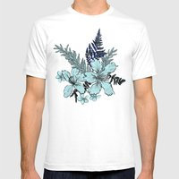 Tropical Trip Mens Fitted Tee White SMALL