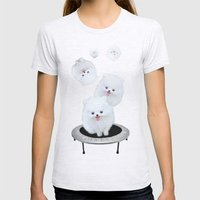 Launch Pad Womens Fitted Tee Ash Grey SMALL