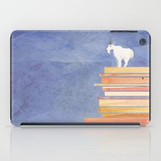 Goat on a Cliff iPad Case