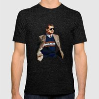 Geometric Ditka Mens Fitted Tee Tri-Black SMALL