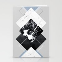 Geometric Textures 5 Stationery Cards