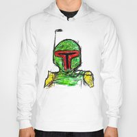 Hoody featuring Boba by Easy Doom