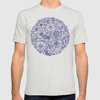 Circle of Friends Mens Fitted Tee Silver SMALL