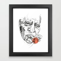 Howlin' Wolf - Get your Howl! Framed Art Print