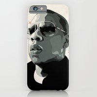 iPhone & iPod Case featuring Jay Z by Ciaran Monaghan Art