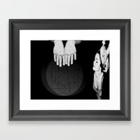 Boby's Hands Framed Art Print