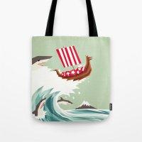 Sharkwave Tote Bag