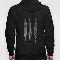 The Writer's Feathers Hoody