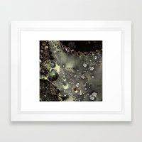 Laceline - Fractal Art Framed Art Print