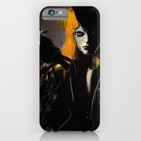 iPhone & iPod Case featuring Crow by Dnzsea