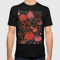 Nature Number 2. Mens Fitted Tee Tri-Black SMALL