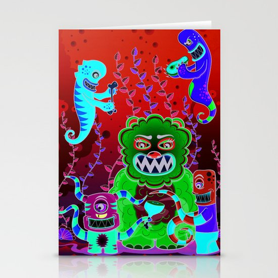 Flesh and Teeth's Stationery Card