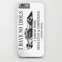 I Have No Idols - Senna Quote iPhone 6 Slim Case