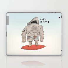 Surf Shark Laptop & iPad Skin