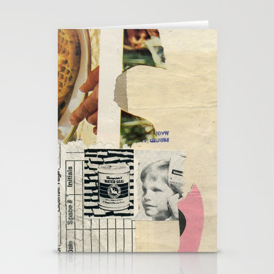 Water Seal Stationery Card