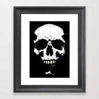 Skullboy Logo Framed Art Print