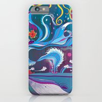 iPhone & iPod Case featuring Every Time a Whale Blows Their Spout, a New Dream is Born. by Mat Miller