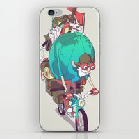 Mr. Traveler iPhone & iPod Skin