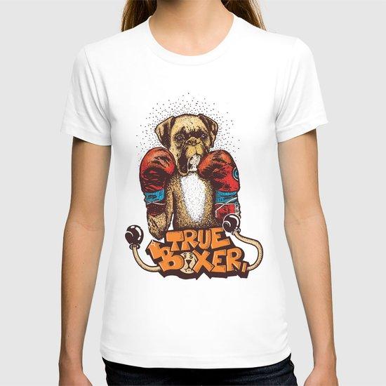 true boxer T-shirt