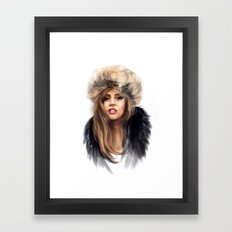 Mother Monster in  Russia Framed Art Print