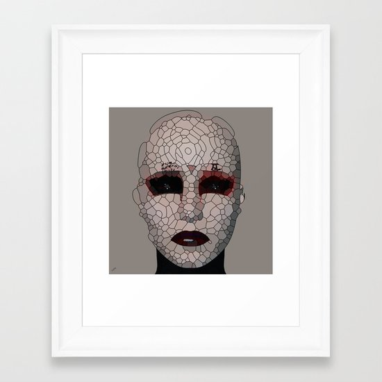 Reconstruction Framed Art Print