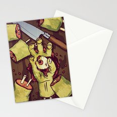 Zombie Sushi Stationery Cards