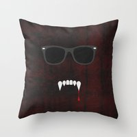 The Lost Boys - Minimal Poster 01 Throw Pillow