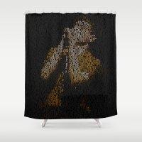Ian Curtis : Unknown Ple… Shower Curtain