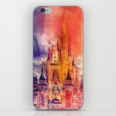 Cinderella Castle iPhone & iPod Skin