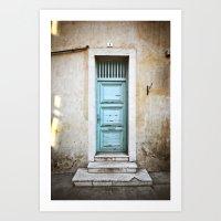 Porte N°5 Art Print
