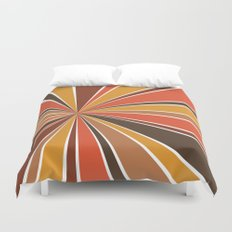 70's Star Burst Duvet Cover
